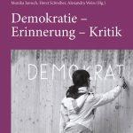 """Gaismair-Jahrbuch 2012 """"Demokratie – Erinnerung – Kritik"""", Martin Haselwanter, Lisa Gensluckner, Monika Jarosch, Horst Schreiber, Alexandra Weiss (Hg.)"""